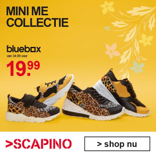 Kinderschoenen en kinderkleding van Scapino Mini Me collectie met korting
