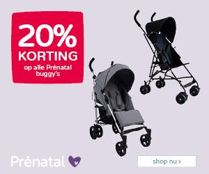 Prénatal Babydeals! 20% korting op alle Prénatal buggy's