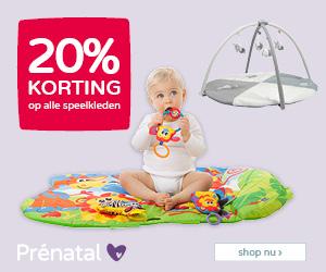 Prénatal Babydeals 20% korting op alle speelkleden
