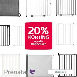 Prénatal Babydeals! 20% korting op alle traphekken