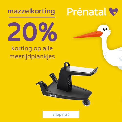 20% korting op alle meerijdplankjes