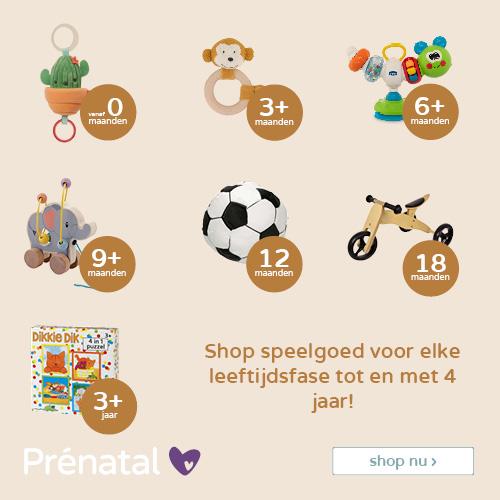 Shop speelgoed voor elke leeftijd tot en met 4 jaar!