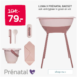 Prénatal SALE | Luma X Prénatal badset van 104.- voor 79.-