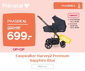 Prénatal Paasdeals! Easywalker Harvey2 Premium Sapphire Blue van 899.98 voor 699.-