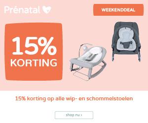 15% korting op wip- en schommelstoelen