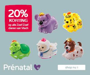 Prénatal 20% korting op ZoefZoef speelgoed