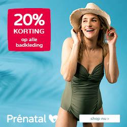 Prénatal zin in de zon! 20% korting op alle badkleding