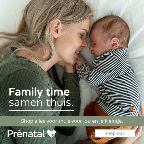 Prénatal Family time I samen thuis folder week 3-4 2020