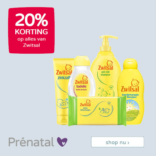 ?Prénatal Family time I samen genieten • 20% korting op alles van Zwitsal?