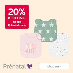 Prénatal Family time I samen eropuit • 20% korting op alle Prénatal slabs