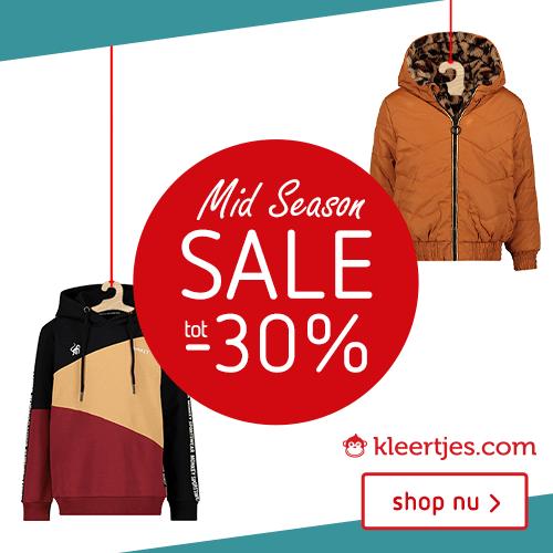 Kleertjes-com Mid Season SALE! Tot -30%!