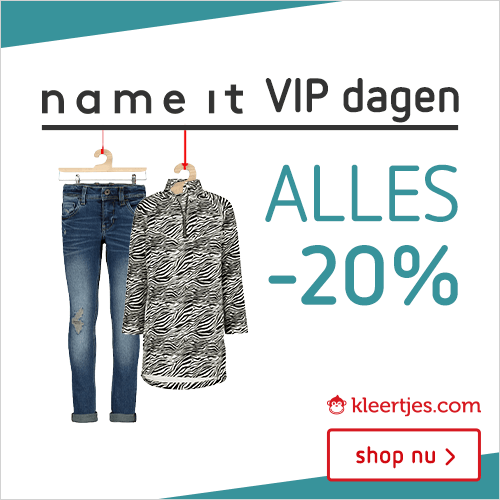 kinderkleding | Kleertjes.com | Name It VIP dagen -20%