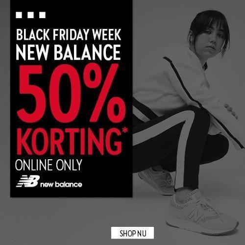 Black Friday Week New Balance Perry Sport 50% korting