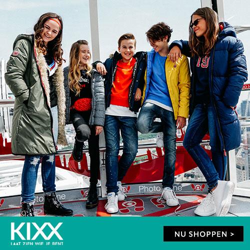 Kixx kinderkleding summersale tijdelijk kortingen tot -60%