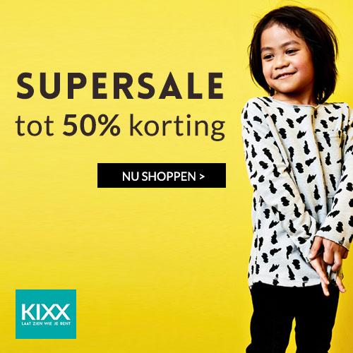 Supersale Kixx tot 50% korting