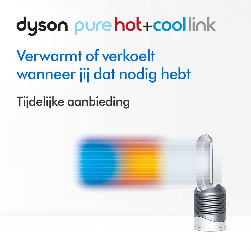 Dyson Pure Hot+Cool Link™ luchtreiniger/verwarmingsventilator - Bespaar €50,00