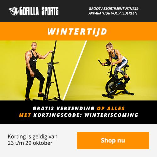 Wintertijd - Gratis verzending op alles | Gorillasports