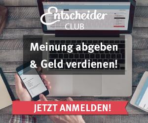 EntscheiderClub Schweiz: Meinung abgeben & Geld verdienen