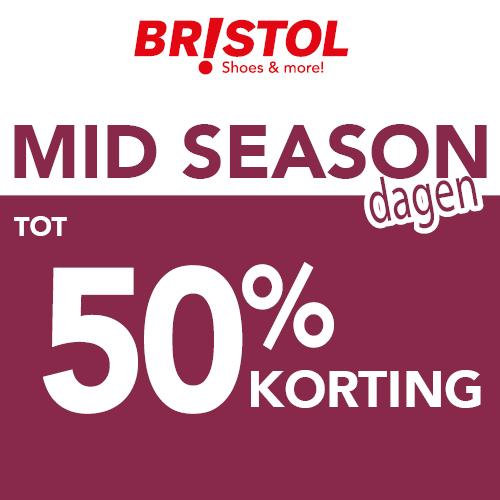 Bristol Mid season dagen | tot 50% korting