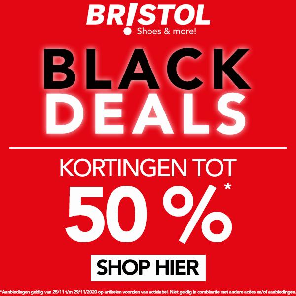 Black Deals kortingen tot 50% bij Bristol