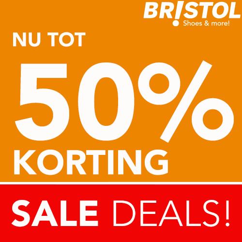 Sale Deals bij Bristol! Nu tot 50% korting
