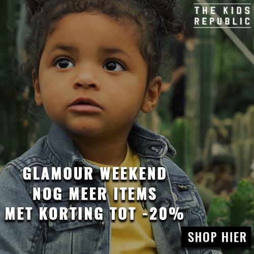 Glamour weekend nog meer items met korting tot 20% bij The Kids Republic