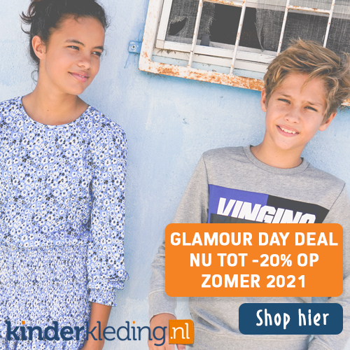 Glamour day deal tot 20% korting op collectie zomer 2021 Kinderkleding_nl