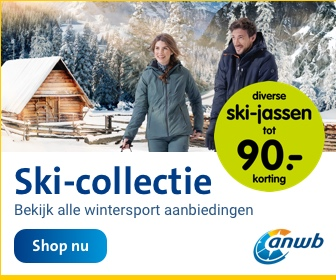 ANWB wintersport aanbiedingen: ski-jassen toy €90,- korting