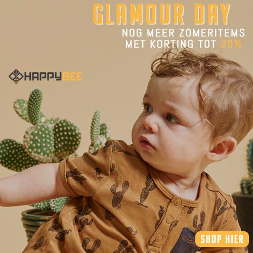 Glamour day nog meer zomeritems met korting tot 20% bij HappyBee