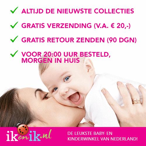 IkenIk is de snelst groeiende online baby- en kinderwinkel van Nederland. Met alles vanaf baby tot aan tiener én voor mama zelf!