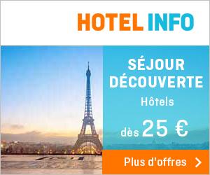 trouver l'hôtel le plus proche