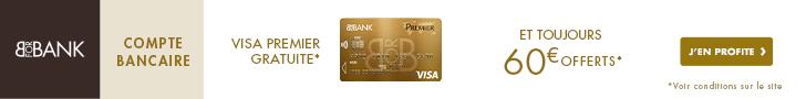 Avis compte bancaire Bforbank
