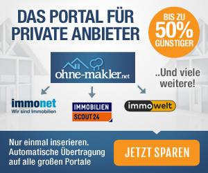 Immobilie, Haus, Wohnung ohne Makler verkaufen bei ohne-makler.net inserieren!