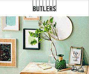 Butlers - Wohnaccessoirs und Dekoideen DE