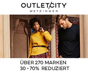 OUTLETCITY METZINGEN - Über 270 Marken 30-70% reduziert