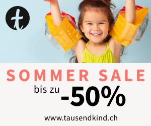 Bis zu 50% Rabatt im Summer Sale bei tausendkind
