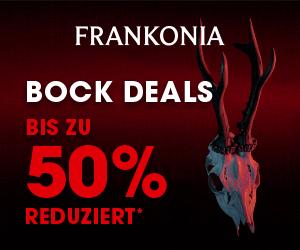 Rabattaktion für ausgewählte Stücke bei Frankonia mit Bockdeals bis zum 2.6.2020 1