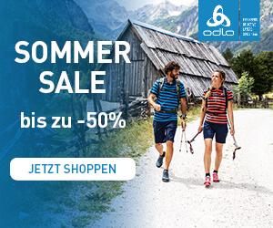 Bis zu 50% Rabatt im Odlo Summer Sale