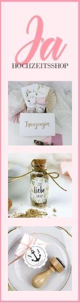 Hochzeitsdeko Online bestellen