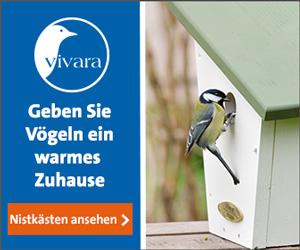 Vivara - Vögel im Garten - mehr Natur im Garten