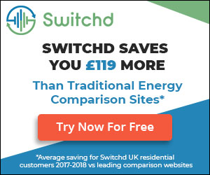Advert for Switchd Utility Switching Service