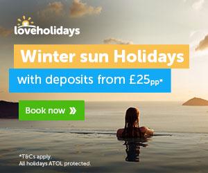 low deposit winter deals