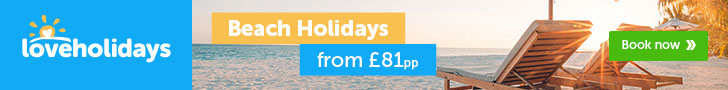 Love Holidays: Low deposits from £25 per person
