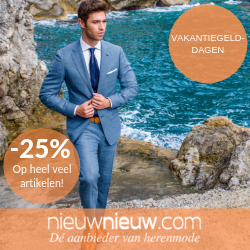 Vakantiegeld-dagen bij Nieuwnieuw.com. 25% Korting op heel veel artikelen!