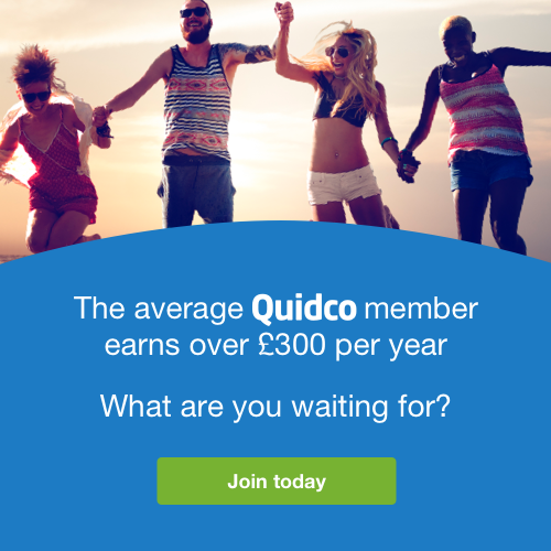 Click here to join Quidco for FREE