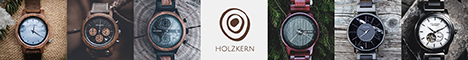 Holzkern Banner 728x90 px horizontal (different watches)