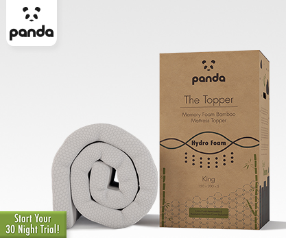 Panda Organic Bamboo Mattress Topper