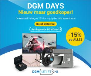 DGM Days 15% korting op gehele assortiment