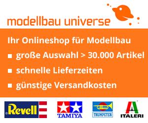Alles für den Modellbahner oder Modellbauer gibt es hier im Modellbau Universe Onlineshop