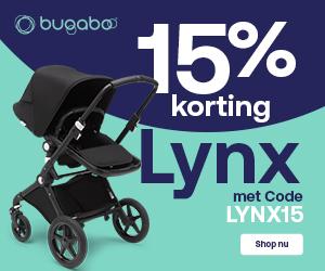 Bugaboo Lynx kinderwagen met wieg en stoel nu met 15% korting